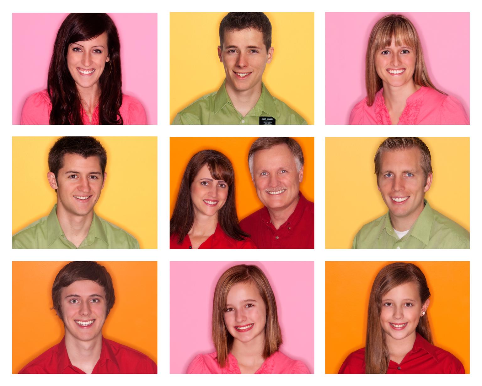 Unique Family portrait session