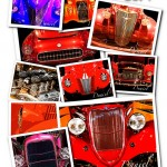 Hot Rod Note Cards personalized