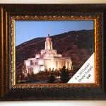 Framed Temple prints