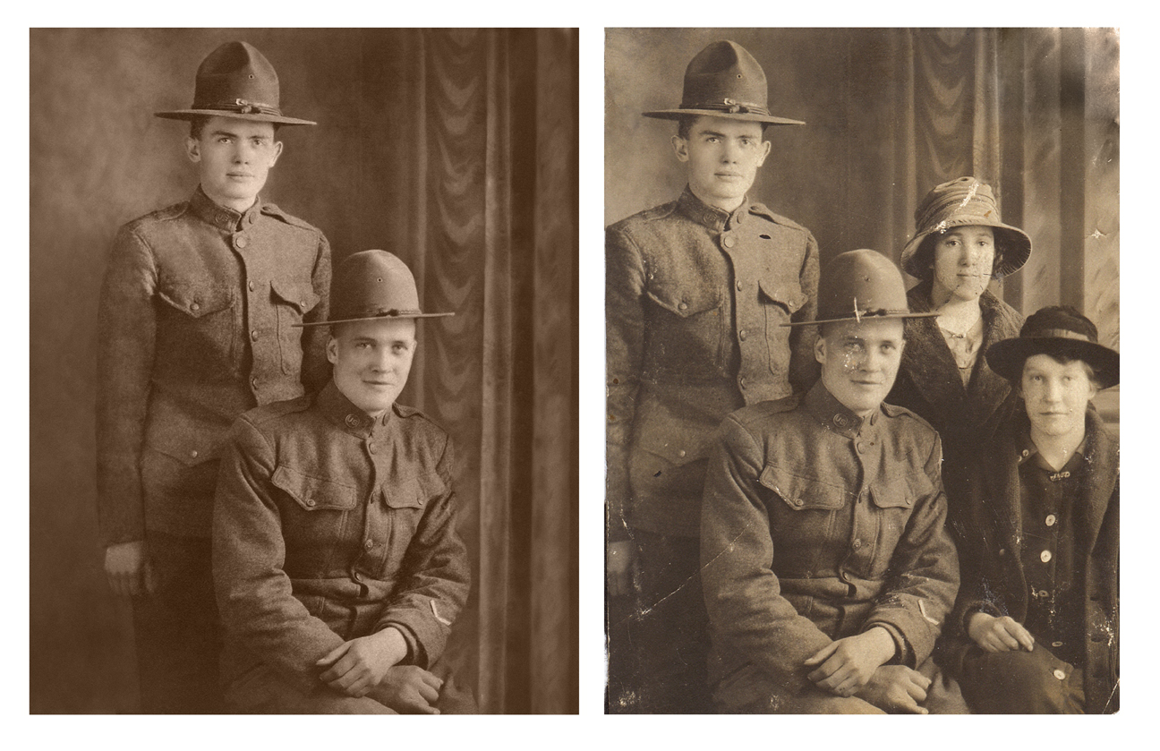 Photo restoration Scott Hancock Photography Pleasant Grove Utah 000