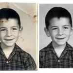 Photo restoration before & after Scott Hancock Pleasant Grove Utah 005
