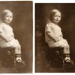Photo restoration before & after Scott Hancock Pleasant Grove Utah 009
