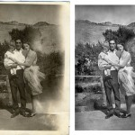 Photo restoration before & after Scott Hancock Pleasant Grove Utah 017
