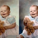 Photo restoration before & after Scott Hancock Pleasant Grove Utah 019