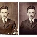 Photo restoration before & after Scott Hancock Pleasant Grove Utah 020