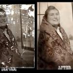 Photo restoration before & after Scott Hancock Pleasant Grove Utah 028