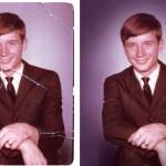 Photo restoration before & after Scott Hancock Pleasant Grove Utah 029