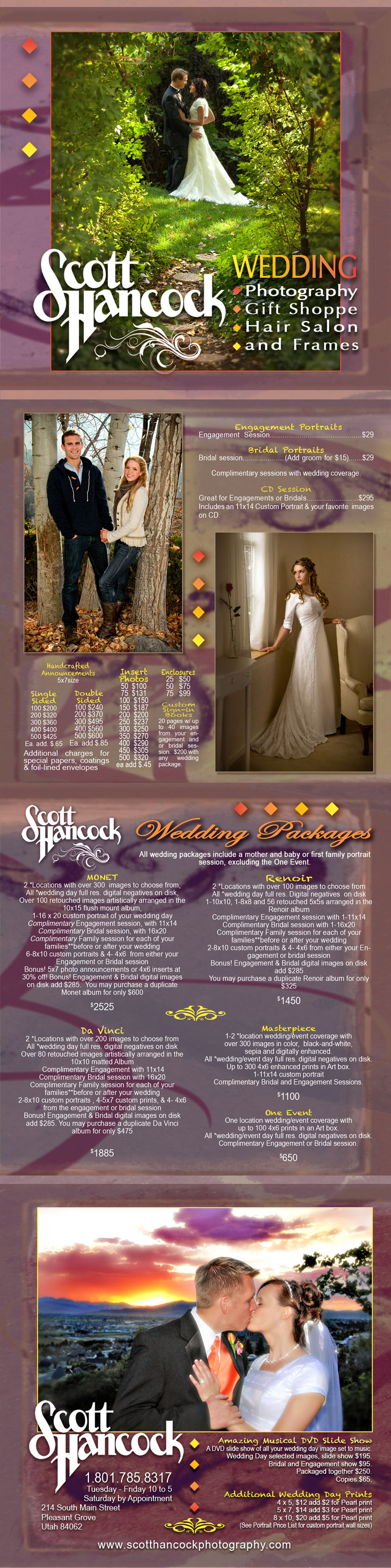 Wedding Prices | Scott Hancock Photography