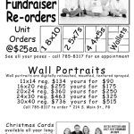 Discounted prices for fundraiser re-orders