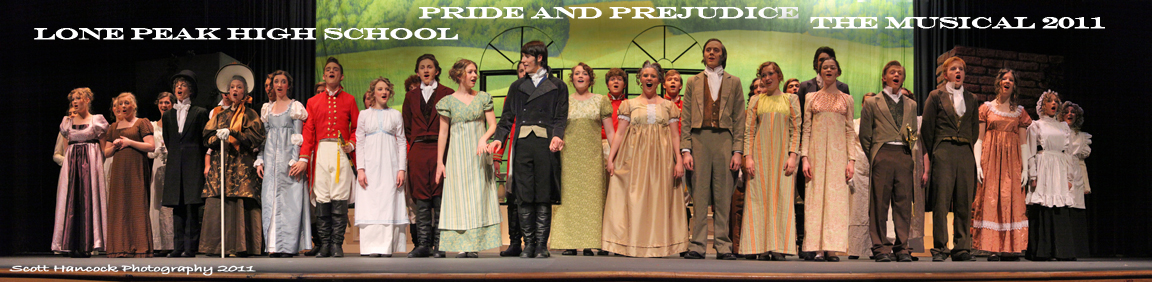 Lone Peak High Schools PRIDE PREJUDICE the Musical web 0002 Pride & Prejudice