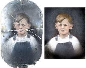 Photo restoration Scott Hancock Photography Pleasant Grove Utah BA Photo Restoration by Email