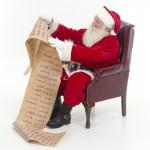 Santa checking his list 2